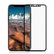 Недорогие Защитные плёнки для экрана iPhone-Защитная плёнка для экрана для Apple iPhone X Закаленное стекло 1 ед. Защитная пленка на всё устройство HD / Уровень защиты 9H / 2.5D закругленные углы