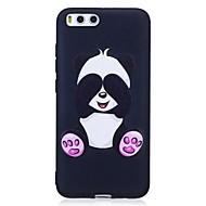 voor case cover patroon back cover case panda soft tpu voor xiaomi xiaomi redmi 4x xiaomi mi 6