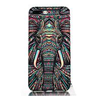 Назначение iPhone 7 iPhone 7 Plus Чехлы панели Ультратонкий С узором Задняя крышка Кейс для Слон Мягкий Термопластик для Apple iPhone 7