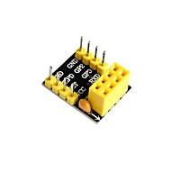 お買い得  Arduino 用アクセサリー-esp01 / 01sアダプタesp8266 esp01 esp01s unsoldered
