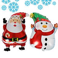 ballon 60 * 45 karácsonyi santa claus hóember termék neve nettó méretek