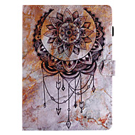 cheap iPad  Cases / Covers-Case For Apple iPad 4/3/2 iPad Air 2 iPad Air Card Holder Wallet with Stand Flip Pattern Full Body Cases Dream Catcher Hard PU Leather for