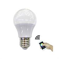 1 piesă 4.5W E27 Bulbi LED Inteligenți 3 led-uri LED Putere Mare Bluetooth Controlul APP RGB + Cald 350lm 3000-3200K AC 100-240V
