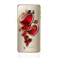 olcso Galaxy S7 tokok-Case Kompatibilitás Samsung Galaxy S8 Plus S8 Átlátszó Minta Hátlap Szív Puha TPU mert S8 S8 Plus S7 edge S7 S6 edge plus S6 edge S6 S5 S4
