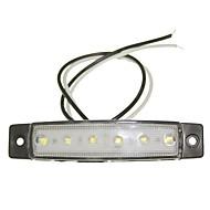 abordables -SENCART 12 pcs Camion / Moto / Automatique Ampoules électriques 1.5W LED SMD 120lm 6 Éclairage extérieur For Universel Toutes les Années