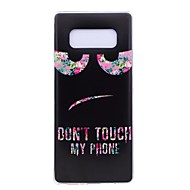 Case For Samsung Galaxy Note 8 Ultra-thin Pattern Back Cover Word / Phrase Soft TPU for Note 8 Note 5 Edge Note 5 Note 4 Note 3 Lite Note