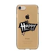 Назначение iPhone X iPhone 8 Чехлы панели Ультратонкий С узором Задняя крышка Кейс для Halloween Мягкий Термопластик для Apple iPhone X