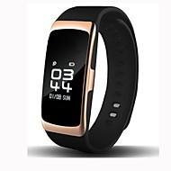Slimme armband iOS Android Waterbestendig Verbrande calorieën Stappentellers Logboek Oefeningen Hartslagmeter Wekker Touch Screen
