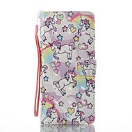 Кейс для Назначение SSamsung Galaxy Note 8 Кошелек Бумажник для карт со стендом Флип С узором Магнитный Чехол Животное Твердый