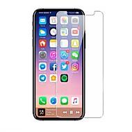 Недорогие Защитные плёнки для экрана iPhone-Защитная плёнка для экрана для Apple iPhone X Закаленное стекло 1 ед. Защитная пленка для экрана HD / Уровень защиты 9H