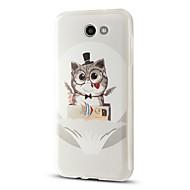 Etui Käyttötarkoitus Samsung Galaxy J7 (2017) J3 (2017) Kuvio Takakuori Kissa Piirretty Pehmeä TPU varten J7 V J7 Perx J7 (2016) J7