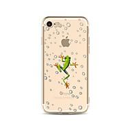 Назначение iPhone X iPhone 8 Чехлы панели Прозрачный С узором Задняя крышка Кейс для Животное Мягкий Термопластик для Apple iPhone X