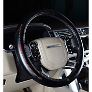 Steering Wheel Covers Genuine Leather 38cm Purple / Coffee / Black / Red For Volkswagen CC / Gran Lavida / Golf 7 All years