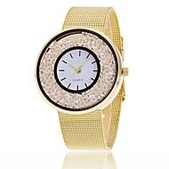 Недорогие Женские часы-Жен. Часы-браслет Модные часы Повседневные часы Китайский Кварцевый Секундомер Защита от влаги сплав Группа Кулоны Блестящие На каждый