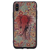 Назначение iPhone X iPhone 8 Plus Чехлы панели С узором Задняя крышка Кейс для Слон Мягкий Термопластик для Apple iPhone X iPhone 8 Plus