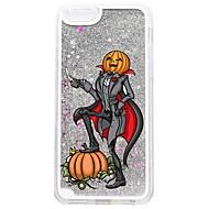 Voor iPhone 7 iPhone 7 Plus Hoesje cover Stromende vloeistof Patroon Achterkantje hoesje Glitterglans Halloween Hard PC voor Apple iPhone