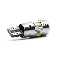 Недорогие Внешние огни для авто-2pcs T10 Автомобиль Лампы 6W SMD 5730 600lm 6 Внешние осветительные приборы For Универсальный Все модели Все года