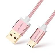 UGREEN USB 2.0 ケーブル, USB 2.0 to USB 2.0タイプC ケーブル オス―オス 3.0M(10フィート)