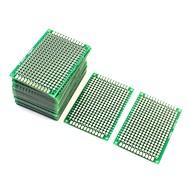 10 db kétoldalas prototípusú prototípusú PCB lap 4cm x 6cm