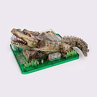 cheap Toys & Hobbies-Astronomy Toy & Model Science & Discovery Toys Stress Relievers Educational Toy Toys Square Fish Crocodile DIY Electric ABS Unisex Teen