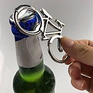 귀여운 키 링 웨딩 파티 선물 자전거 키 체인 자전거 금속 맥주 병 오프너