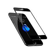 Недорогие Защитные плёнки для экранов iPhone 8 Plus-Защитная плёнка для экрана Apple для iPhone 8 Pluss Закаленное стекло 1 ед. Защитная пленка для экрана 3D закругленные углы Против