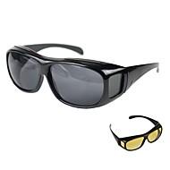 billige Klip og mål-Plastikskal Blandet Materiale Sort Gul 1pc Linealer & målebånd Solbriller Briller 15cm