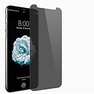Недорогие Защитные плёнки для экрана iPhone-Защитная плёнка для экрана Apple для iPhone X Закаленное стекло 1 ед. Защитная пленка на всё устройство Anti-Spy Взрывозащищенный Уровень