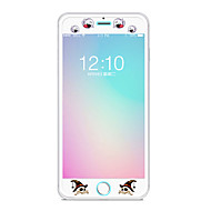 Недорогие Защитные плёнки для экрана iPhone-Защитная плёнка для экрана Apple для iPhone 6s Plus iPhone 6 Plus Закаленное стекло 1 ед. Защитная пленка для экрана Узор
