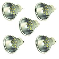 お買い得  LED スポットライト-5個 2W 150lm LEDスポットライト 9 LEDビーズ SMD 5730 装飾用 温白色 クールホワイト 12-24V