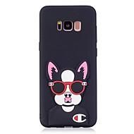 Kılıf Na Samsung Galaxy S8 Plus S8 Wzór DIY Etui na tył Pies Kreskówka 3D Miękkie TPU na S8 S8 Plus S7 edge S7 S6 edge S6