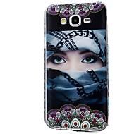 Etui Käyttötarkoitus Samsung Galaxy J7 (2017) J3 (2017) Kuvio Takakuori Sexy Lady Pehmeä TPU varten J7 (2016) J7 (2017) J7 V J7 Perx J7