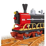 Χαμηλού Κόστους Παιχνίδια και Χόμπι-Τουβλάκια Τρένο Παιχνίδια Ουρά Οχήματα Φτιάξτο Μόνος Σου Αγόρια 406 Κομμάτια