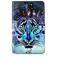 For Case Cover Card Holder Wallet with Stand Flip Pattern Full Body Case Animal Soft PU Leather for Samsung Galaxy Tab E 9.6 Tab E 8.0