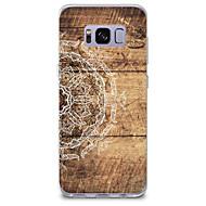olcso Galaxy S tokok-Case Kompatibilitás Minta Hátlap Fa mintázat Mandala Puha TPU mert S8 S8 Plus S7 edge S7 S6 edge plus S6 edge S6 S6 Active S5 Mini S5