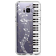 Etui Til Samsung Galaxy S8 Plus S8 Ultratyndt Transparent Mønster Bagcover Punk Blødt TPU for S8 S8 Plus S7 edge S7 S6 edge plus S6 edge