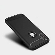для случая крышки замороженной задней крышки случая сплошной цвет мягкой tpu для яблока iphone x iphone 8 плюс iphone 8 iphone 7 плюс