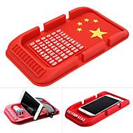 Car Universal / Mobile Phone Mount Stand Holder Dashboard Universal / Mobile Phone Stickup Type Silica Gel Holder