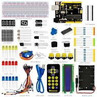abordables Accesorios para Arduino-¡nuevo! keyestudio kit básico de aprendizaje de arranque para arrancador arduino con uno r3