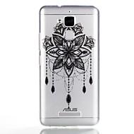 お買い得  携帯電話ケース-ケース 用途 Asus パターン バックカバー ドリームキャッチャー ソフト TPU のために Asus Zenfone 3 Max ZC520TL