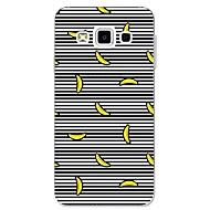 Etui Käyttötarkoitus Samsung Galaxy A5(2017) A3(2017) Kuvio Takakuori Linjat / aallot Hedelmä Pehmeä TPU varten A3 (2017) A5 (2017) A7
