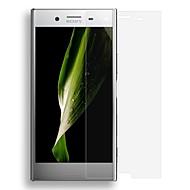 abordables Protectores de Pantalla para Sony-Protector de pantalla para Sony Xperia XZ Premium Vidrio Templado Protector de Pantalla Frontal Alta definición (HD) A prueba de