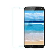 halpa Motorola suojakalvot-Näytönsuojat Motorola varten Moto G3 Karkaistu lasi 1 kpl Näytönsuoja 2,5D pyöristetty kulma 9H kovuus Teräväpiirto (HD)