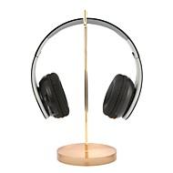universele hoofdtelefoon stand acryl basis oortelefoon houder professionele display rack headset hanger bracket goud voor gamer