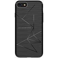 Кейс для Назначение iPhone X iPhone 8 Защита от удара Матовое Задняя крышка Полосы / волосы Мягкий TPU для iPhone X iPhone 8 Plus iPhone