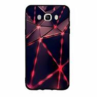 hoesje Voor Samsung Galaxy Patroon Achterkantje Geometrisch patroon Zacht TPU voor J7 Perx J7 (2016) J7 (2017) J7 V J7 J5 (2016) J5