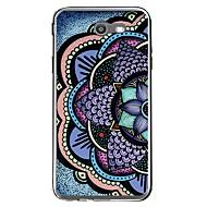 halpa Galaxy J1 kotelot / kuoret-Etui Käyttötarkoitus Samsung Galaxy J7 V J7 (2017) Kuvio Takakuori Mandala Pehmeä TPU varten J7 V J7 Perx J7 (2017) J7 (2016) J7 J5