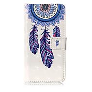 Назначение iPhone X iPhone 8 Чехлы панели Кошелек Бумажник для карт со стендом Флип С узором Чехол Кейс для Ловец снов Твердый