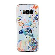 halpa Galaxy S4 kotelot / kuoret-Etui Käyttötarkoitus Samsung Galaxy Kuvio Takakuori Eläin Pehmeä TPU varten S8 Plus S8 S7 edge S7 S6 edge plus S6 edge S6 S6 Active S5