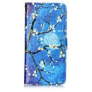 Кейс для Назначение SSamsung Galaxy S8 Plus S8 Кошелек Бумажник для карт со стендом Флип С узором Чехол дерево Цветы Твердый